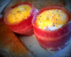 Turkey Bacon & Egg Cups